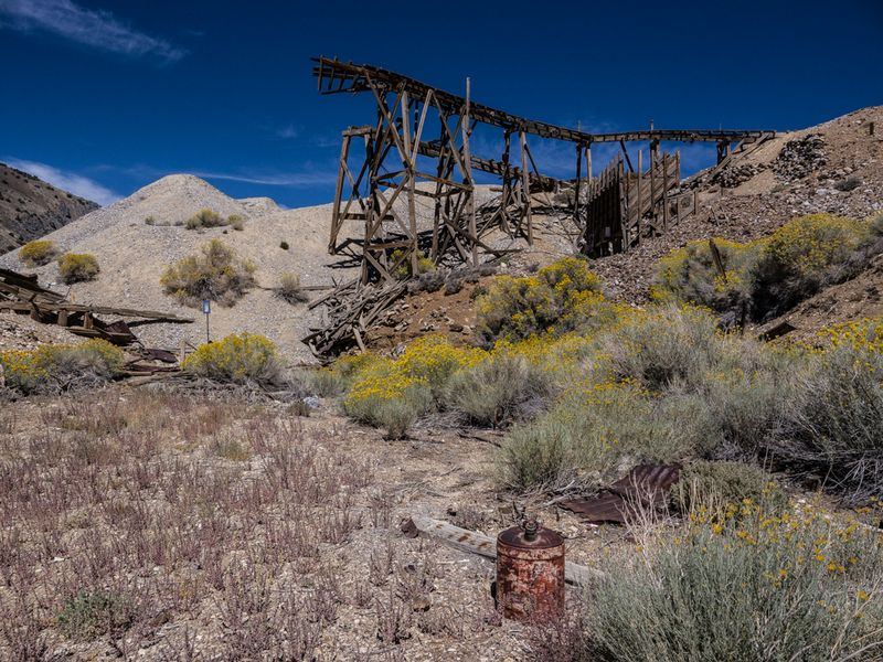 20150907 blog Cerro Gordo sluice