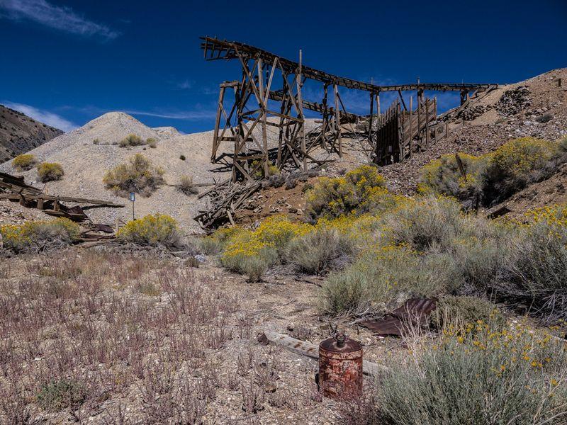 20150907 blog Cerro Gordo sluice